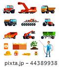 ジャガイモ 栽培 耕作のイラスト 44389938