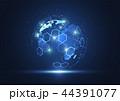 ネットワーク 通信 グローバルのイラスト 44391077