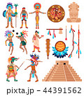 文化 宗教 マヤのイラスト 44391562
