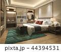 ベッドルーム 寝室 クローゼットのイラスト 44394531