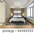 ベッド ベッドルーム 寝室のイラスト 44394533