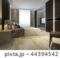 ベッド ベッドルーム 寝室のイラスト 44394542
