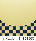 和-和風-和柄-背景-金箔-市松模様 44395963
