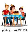 お誕生日 バースデー 誕生日のイラスト 44395991