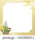 正月 門松 和柄のイラスト 44396051