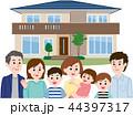 二世帯住宅 大家族 44397317