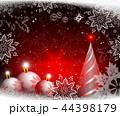 バックグラウンド 背景 クリスマスのイラスト 44398179