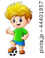 少年 子 子供のイラスト 44401957