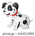 動物 キャラクター 文字のイラスト 44401990