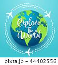 地球 グローバル 探検するのイラスト 44402556