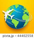 地球 グローバル 探検するのイラスト 44402558