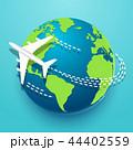 地球 グローバル 探検するのイラスト 44402559