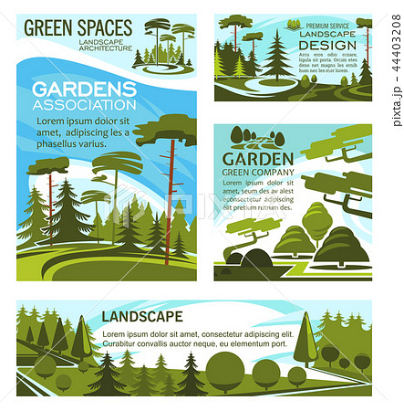 Landscaping park and square design company 44403208