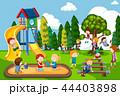 遊び場 子供 レジャーのイラスト 44403898