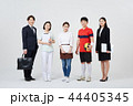 직업인,동료,남자,여자,한국인 44405345