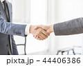 握手 ビジネス ビジネスマンの写真 44406386