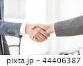 握手 ビジネス ビジネスマンの写真 44406387