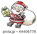 サンタ サンタクロース クリスマスのイラスト 44406776