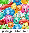 ウイルス 病原菌 バクテリアのイラスト 44408623