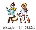 女子旅 女性 旅行のイラスト 44408821