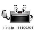 マスコット 賢い 利口のイラスト 44409804