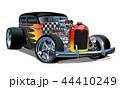 さお ロッド 車のイラスト 44410249