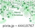 雪 クリスマス クリスマスカードのイラスト 44410767