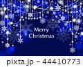雪 クリスマス クリスマスカードのイラスト 44410773