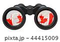 カナダ カナディアン 双眼鏡のイラスト 44415009