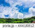 空 雲 晴れの写真 44416812