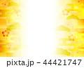 梅 和柄 和紙のイラスト 44421747