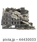 建造物 立体 3Dのイラスト 44430033