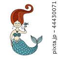 マーメイド マーメード 人魚のイラスト 44430071