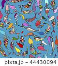 マーメイド マーメード 人魚のイラスト 44430094