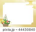 正月 門松 和柄のイラスト 44430840