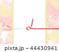 和柄 桜 ピンクのイラスト 44430941
