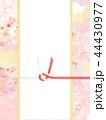 和柄 桜 ピンクのイラスト 44430977