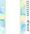 和-和風-和柄-背景-和紙-夏-紅葉-ブルー-水引-のし 44431333