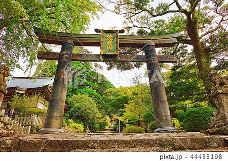 銅鳥居(かねのとりい):福岡県田川郡添田町大字英彦山 44433198