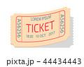チケット 割引券 シアターのイラスト 44434443