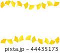 銀杏 葉 秋のイラスト 44435173