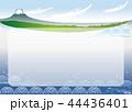 富士山と海10_フレーム 44436401