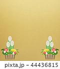 正月 門松 背景のイラスト 44436815