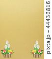 正月 門松 背景のイラスト 44436816