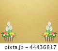正月 門松 背景のイラスト 44436817