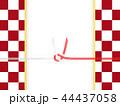 和柄 市松模様 和紙のイラスト 44437058