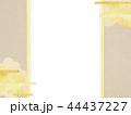 和-和柄-和風-背景-金箔-雲-霞-のし紙 44437227