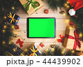 Green Screen Tablet Device Christmas Decoration 44439902