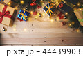 Room For Text Christmas Decoration on Wooden Plank 44439903