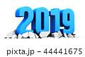 2019 新しい年 新年のイラスト 44441675